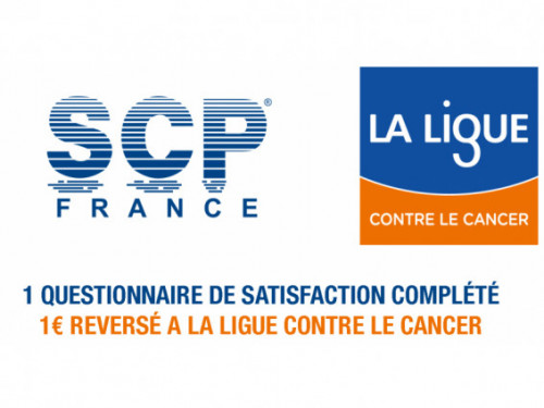 un questionnaire rempli, un euro reverse a la ligue contre le cancer